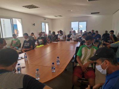تأسيس جمعية من أجل تسيير ملعب القرب بمركز أمتار