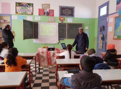 تلامذة مدرسة ابن حمديس بآزمور  يستفيدون من ورشة حول الاستعمال الآمن للإنترنيت