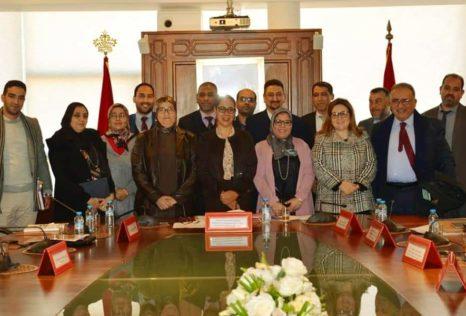 أوراش ومكتسبات اجتماعية جديدة لموظفي وزارة اعداد التراب الوطني و التعمير