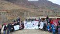 نادي إنسيم الخير التابع للمدرسة الوطنية العليا للكهرباء والميكانيك في قافلة إنسانية بدواوير المغرب المنسي